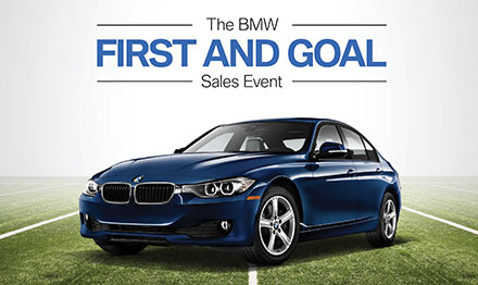 BMW First and Goal Event Marketing