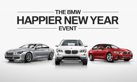 BMW Happier New Year Event Marketing