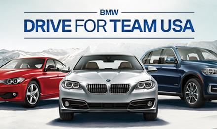 BMW Drive for Team USA Winter Games Event Marketing