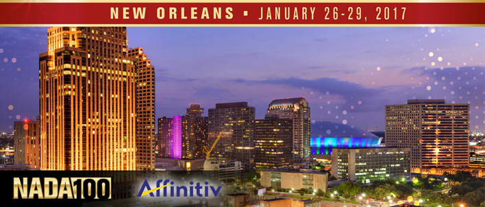 Affinitiv to attend NADA 2017 conference and expo in New Orleans